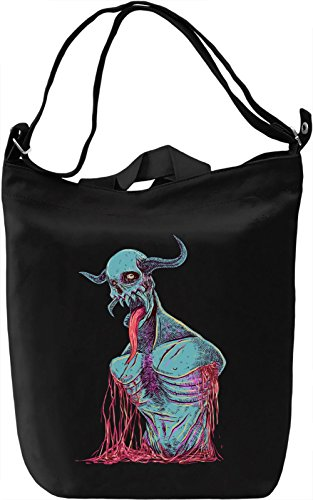 Devil torso Borsa Giornaliera Canvas Canvas Day Bag| 100% Premium Cotton Canvas| DTG Printing|