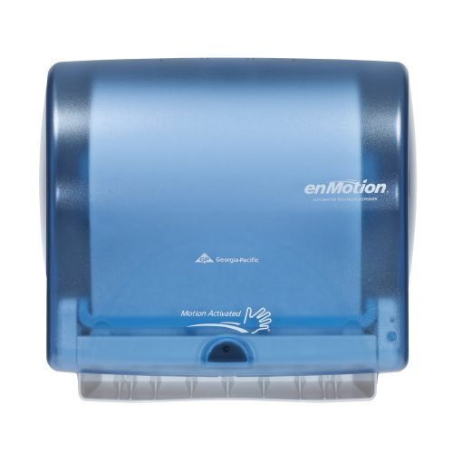 Georgia Pacific Enmotion 59487 Impulse 10 Automated Touchless Paper Towel Dispenser, Splash Blue by Unknown ()