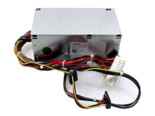 (Genuine Dell 250W Watt CYY97 7GC81 L250NS-00 Power Supply Unit PSU For Inspiron 530s 620s Vostro 200s 220s, Optiplex 390, 790, 990 Desktop DT Systems Compatible Part Numbers: CYY97, 7GC81, 6MVJH, YJ1JT, 3MV8H Compatible Model Numbers: L250NS-00, D250ED-00, H250AD-00)