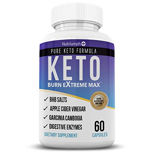 Keto BHB by Nutriumph | Ketogenic Diet Pills | Ketosis Supplement for Women & Men | Exogenous Ketones with BHB Salts…