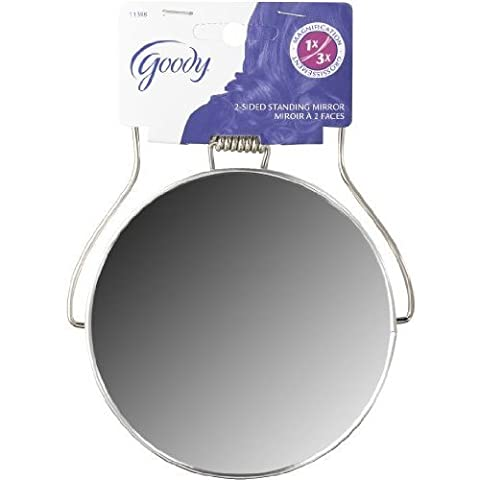 Goody G Mirror 2 Sided Makeup 1 count (Pack Of 6) (Goody Two Sided Mirror)
