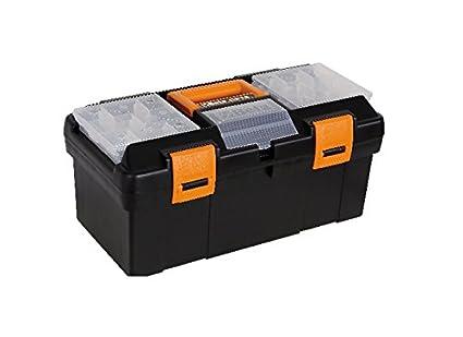 Beta 2115P VU/1 modelo CP15+5915VU/1 caja de herramientas, hecha de plástico, bandeja de dientes extraíble y bandejas, vacía: Amazon.es: Industria, empresas y ciencia
