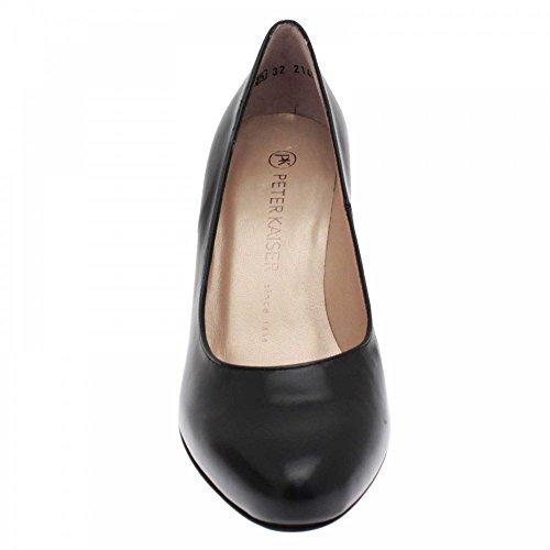 negro mujer de Negro Kaiser negro vestir Zapatos Peter para Xf10fx