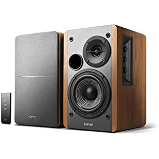 Edifier R1280T Powered Bookshelf Speakers with 2.0 Active Near Field Monitors