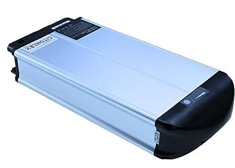 Batería 36 V 10 AH de iones de litio 2 Polos XH370 - 10J para bicicleta eléctrica, Pedelec, por ejemploMIFA,REX,ALDI,PROPHETE.: Citomerx: Amazon.es: Coche y ...