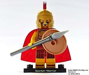 LEGO Minifiguras Coleccionables: Guerrero Espartano Minifigura (Serie 2) (Bolsas)