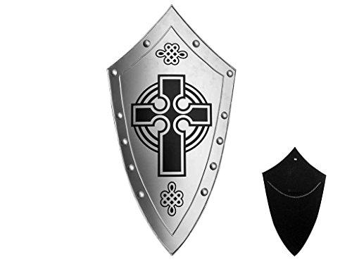 Medieval Templar Knight Metal Shield 35.8