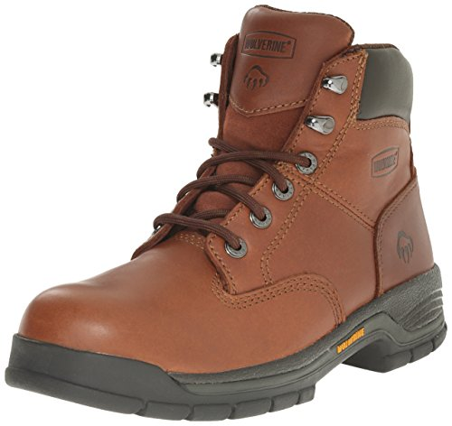 Wolverine Women's Harrison WMS 6'' LACE UP-W, Brown, 9 M US by Wolverine (Image #1)