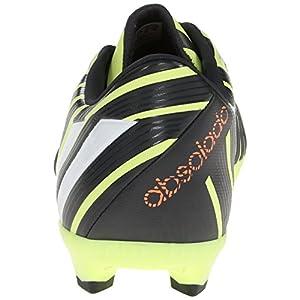 adidas Performance Men's P Absolado Instinct Firm-Ground Soccer Cleat, Light Flash Yellow/Running White/Dark Shale, 11.5 M US