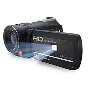 KINGEAR HDV-D395 1080P 24MP WiFi Video Recording Night Vision Digital Video Camcorders