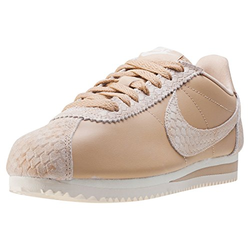 Wmns beige Nike Cortez Premium Classic Marron zrqqdHP