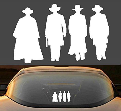 Tombstone Movie Wyatt Earp Doc Holliday Funny 7 Year Vinyl Decal (Funny Tombstone)