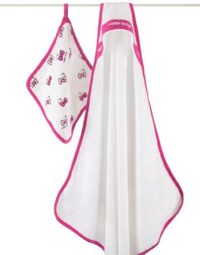 Aden + Anais Hello Kitty Hooded Towel Set