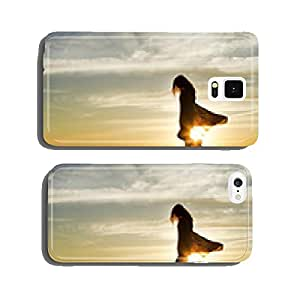 Sunset Woman cell phone cover case Samsung S6