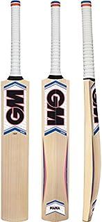 Gunn & Moore GM Mana Maxi Batte de cricket en saule, taille complète à manche court taille complète à manche court 1600148