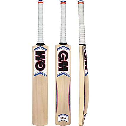 929bd045f91 GM Mana Bullet English Willow Cricket Bat Size 5  Amazon.in  Sports ...