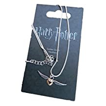 Golden Snitch - pendant necklace - Official Harry Potter Warner Brothers Licenced product!