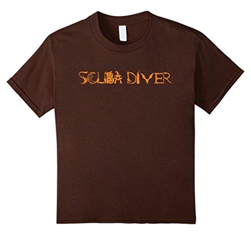 Kids Halloween Scuba Diver Funny T-shirt Diving Costume 4 (Kids Scuba Diver Halloween Costume)