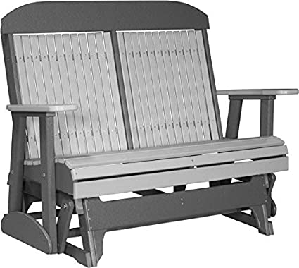 Amazon.com: Furniture Barn USA Outdoor - Glider de plástico ...