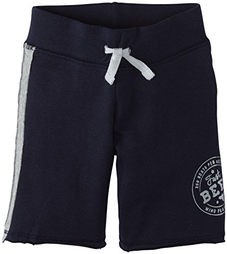 Burt's Bees Baby Baby Boys' Racing Stripe Shorts (Baby) - Midnight - 0-3 Months ()