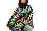 Fleece throw blanket- Paisley turtles
