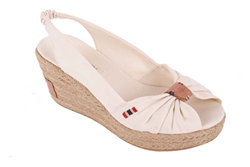 Wedge White Napapijri Off Heel Pumps Bea Strappy Sandals 8WwtwHqzv