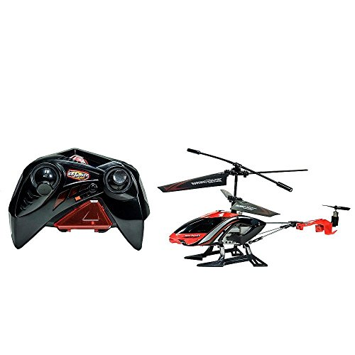 Sky Rover Bandit Helicopter with Gyro - Red (Rover Battery Sky Helicopter)