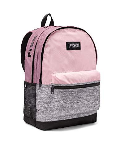Victoria's Secret PINK Campus School Backpack, Chalk Rose/Gray -