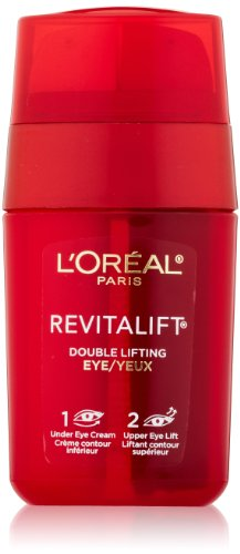 L'Oreal Paris Skincare RevitaLift Double Lifting Eye Cream Treatment with Pro-Retinol A and Pro-Tensium E to Reduce Wrinkles and Diminish Appearance of Dark Circles, 0.5 fl oz (Best Upper Eyelid Firming Cream)