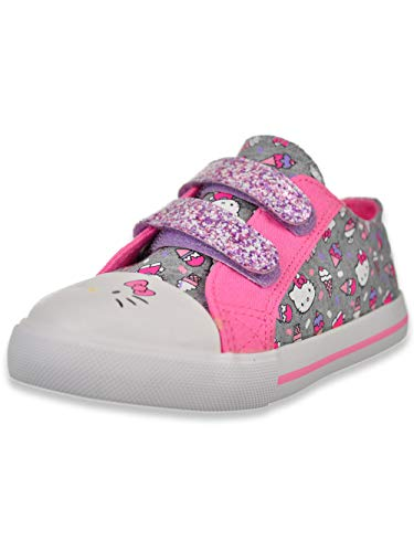 HELLO KITTY Lil Frosty Girls Toddler Fashion Sneakers (10 M US Toddler) (Hello Kitty Sneakers For Girls)