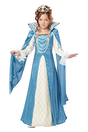 California Costumes Renaissance Queen Child Costume, Small