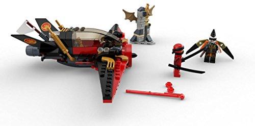 41JdSLccQEL - LEGO NINJAGO Masters of Spinjitzu: Destiny's Wing 70650 Building Kit (181 Piece)