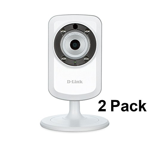 2 Pack D-Link DCS-933L Day & Night Wi-Fi Security Camera