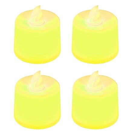DYTJ-Candles Creativo Led Lámpara De Vela Simulación Llama ...