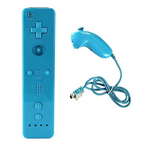 wii remote controller blue - 6