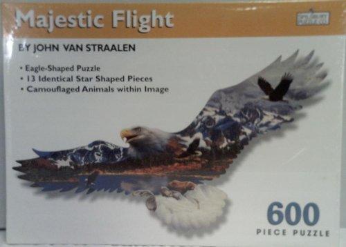 (John Van Straalen's Majestic Flight Eagle Jigsaw Puzzle 600 pieces)