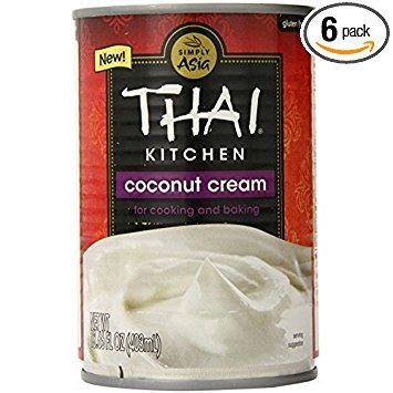 - Thai Kitchen Coconut Cream, 13.77 Ounce (Pack of 6)