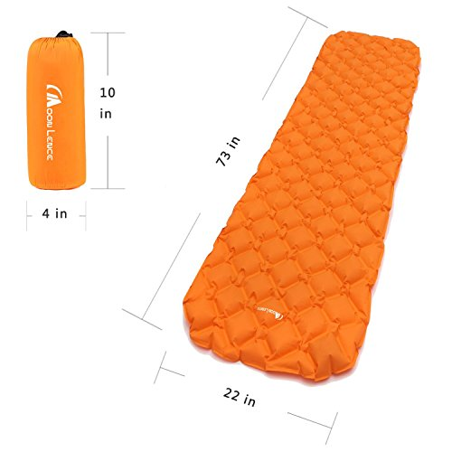 wwww Camping air cushion-Orange by wwww (Image #1)