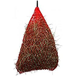 "Shires Greedy Feeder Haynet 30"" Red"