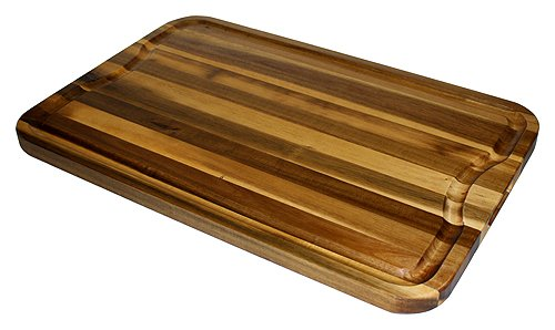 Mountain Woods Marbled Acacia Cutting Board with Juice Groove