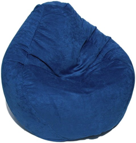 Bean Bag Boys Faux Suede Bean Bag, Sea by Bean Bag Boys