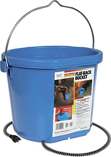 DPD Heated Flatback Bucket - 5 Gallon