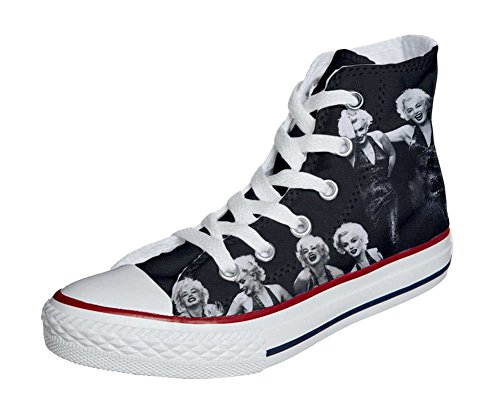 HANDMADE All Producto personalizados Marylin Unisex Star zapatos Foto Converse fYwqxS4d4