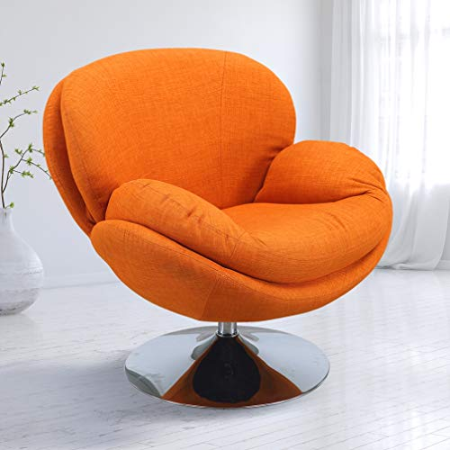 - Comfort Chair SCOOP-120-CH Mac Motion Scoop Accent Owaga Fabric Leisure Chair, One Size, Rio (Orange)