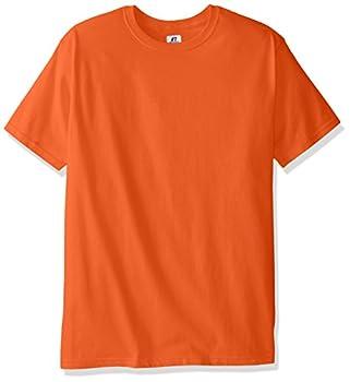 Russell Athletic Men's Basic T-shirt, Burnt Orange, Large 1
