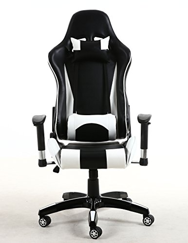Btexpert Executive Pu Leather High Full Back Racing Office
