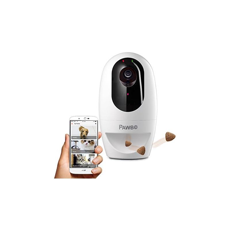 Pawbo Life Wi-Fi Pet Camera: 720p HD Vid