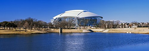 (Posterazzi PPI149922L Cowboy Stadium at The Waterfront Dallas Texas USA Poster Print, 36 x 12, Varies)