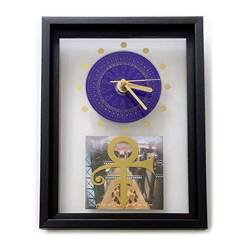 PRINCE and THE NPG - O(+> Love Symbol: FRAMED CD ART CLOCK/Exclusive Design