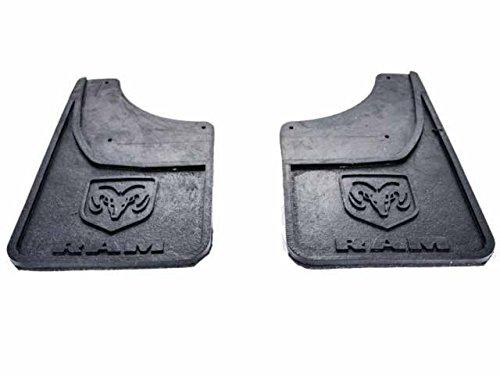 Genuine Dodge RAM Accessories 82212289 Rear Heavy Duty Rubber Splash Guard